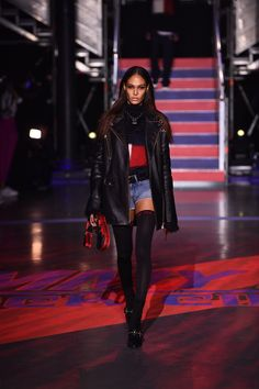 9ce1352e5f185 Tommy Hilfiger presented his latest collection with Gigi Hadid during London  Fashion Week. See (and shop) all of the Tommy x Gigi season-three looks.
