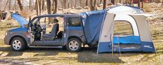 Sportz SUV/Minivan Tent for a Honda Element