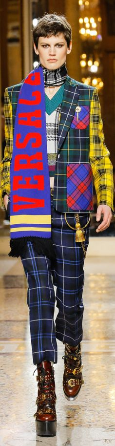 Fall 2018 RTW Versace (Menswear Collection)