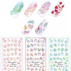 $0.99 1 pc Colorful Bubble Water Decals Nail Stickers - BornPrettyStore.com