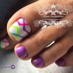 Nail Art Designs, Pedicure Designs, Toe Nail Designs, Pedicure Ideas, Nail Ideas, Cute Toe Nails, Toe Nail Art, Pretty Nails, Pedicure Nails
