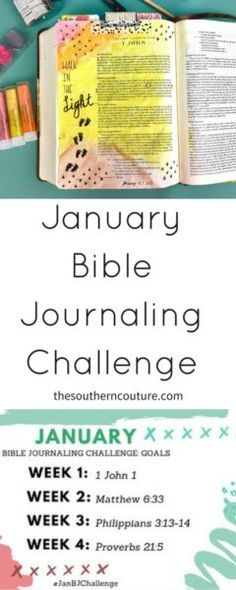 My Creative Bible KJV #Bible Journaling two-inch-wide ruled - one inch margins