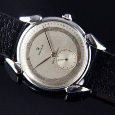 """""""For sale from is this steel Ref 4560 with fancy lugs and 2 tone dial priced at See all trusted offers on…"""" Vintage Rolex, Passion, Fancy, Steel, Instagram Posts, Steel Grades, Iron"""