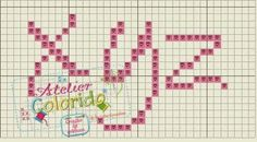 gráfico; esquema; ponto cruz; punto croce; cross stitch; crossstitch;