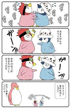 Law & Kid ① One piece. Doflamingo. Law. Kid