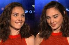 Gal Gadot Briefly Forgot Where She Was While Looking At Chris Pine