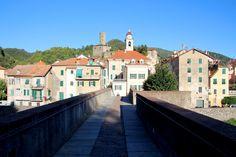 Vistas de Campo Ligure desde el Puente de San Miguel