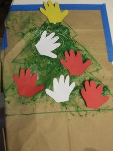 Fun and easy finger painting idea