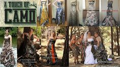 Spend one of your most special and memorable days wearing what you love - CAMO! Here's a list of places to buy awesome camo wedding dresses! Camo Wedding Dresses, Wedding Boots, Girls Dresses, Flower Girl Dresses, Formal Dresses, Wedding Ideas To Make, Traditional Wedding, Special Day, How To Memorize Things