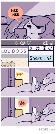Girlfriend Illustrates Everyday Life With Her Boyfriend And A Puppy In 10  Adorable Comics