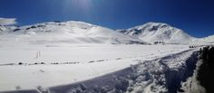 75 km from Marrakech, february 2014, yes we can ski in Morocco ;-) (In Oukaïmeden ski resort)