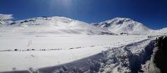 75 km from Marrakech, february 2014, yes we can ski in Morocco ;-) (In Oukaïmeden ski resort)