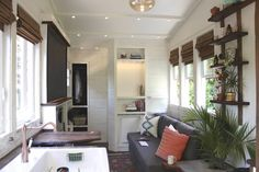 An Unbelievably Stylish $70k Tiny House on Wheels//// Repinned via Decorget