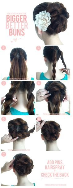 Rope braids - I can do those! Pretty pretty pretty I think I did this, I think it worked I don't chronicle my hair dos My Hairstyle, Pretty Hairstyles, Easy Hairstyles, Wedding Hairstyles, Diy Wedding Updos For Long Hair, Wedding Braids, Hair Wedding, Latest Hairstyles, Junior Bridesmaid Hairstyles