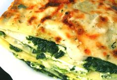Uiiiiiiiii Die perfekte Kombi! Spinat Ricotta Lasagne