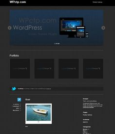 Eclipse - WordPress Theme Wordpress Theme
