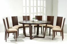 Attrayant Modern Round Glass Dining Table | Selling | Pinterest | Dining Furniture,  Round Glass And High Top Tables