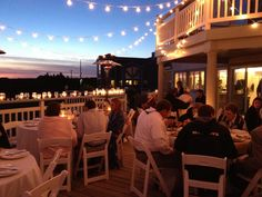 rental beach house wedding reception