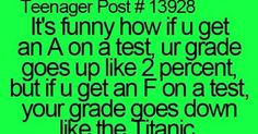teenager posts in order starting with #1 | teenagers | So Funny!! | Pinterest | My sister, Teaching and I hate school