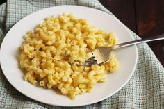 This is the easiest mac and cheese recipe you'll ever make. Seriously. I think it rivals the box in both taste and simplicity.