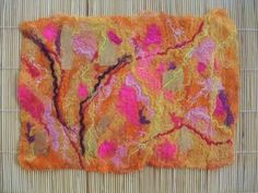 Finished finished piece of wet felt