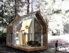"""Portable Mini House"" inside"
