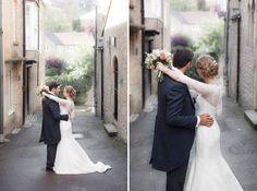 Bride and Groom | Kerry Bartlett Photography | Summer Wedding | Bruton Church Wedding | Light delicate pretty wedding