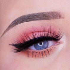 makeup aesthetic Peachy Makeup Tutorial Make Up Geek Makeup Geek Eyeshadow Pink Eyeshadow Look, Makeup Geek Eyeshadow, Eye Makeup, Cool Makeup Looks, Wedding Makeup Looks, Amazing Makeup, Peach Makeup, Purple Makeup, Lila Make-up