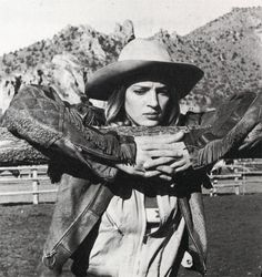Uma Thurman as Sissy Hanksaw in 'Even Cowgirls Get the Blues' (1994)