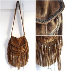 Cute fringed bag!