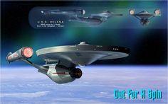 USS Helena. Star Trek