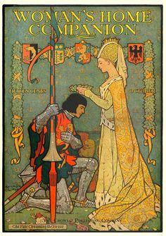 Woman's Home Companion - queen & knight