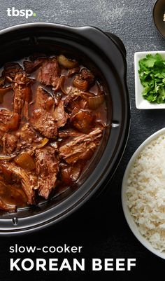 Slow-cooker meals don't have to be boring. Our Slow-Cooker Korean Beef, simmered in a soy and sesame sauce, is packed with flavor and is ridiculously easy to prepare.