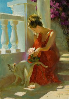 "Vladimir Volegov, ""Untitled #1"" (2005).  Oil on canvas, 36"" x 25.5"""
