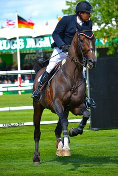 Eric Lamaze and the late Hickstead