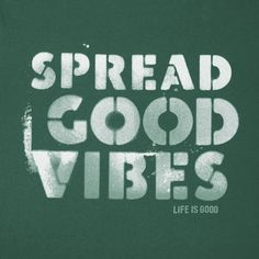 Men's Spread Good Vibes Newbury Tee