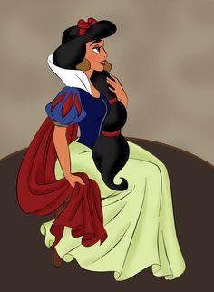 Jasmine en Blanche Neige