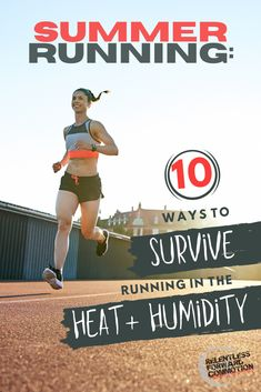 Summer running can be a humbling, frustrating experience. But you can adapt! Here are 10 ways to survive running in the heat and humidity this summer. Running Humor, Running Workouts, Running Tips, Gym Humor, Running Routine, Road Running, Trail Running, Training Plan, Running Training