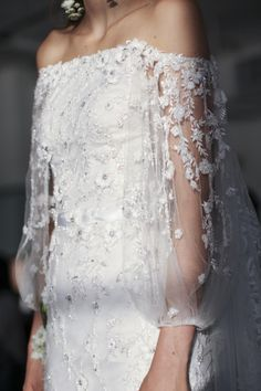 Marchesa Bridal Fall 2017 / Wedding Style Inspiration / LANE