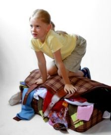 Great tips on how to pack for summer camp... this is M the night before camp!!