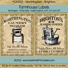 Do you like our Farmhouse Labels? You're in luck... they're on sale now thru July 22, 2014. 50% OFF!!  http://www.ewenmeprintables.com/catalog.php?category=49&page=all