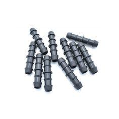 LOT DE 4 JONCTIONS pour tuyau de diamètre 16 RACCORD Cannelé