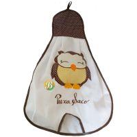 Decorative Brown Owl  Hanging Bag to Store Supermarket Bags @SupermercadoBRA