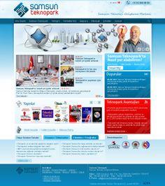 Samsun Teknopark Web Design