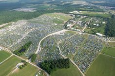 Bonaroo- 4 days, 700 acres, over 200 bands, but way too many people.