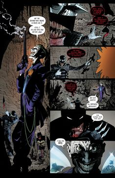 The Batman Who Laughs final encounter with Batman. DC's Metal.