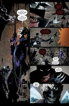 Things must be really dire if Batman is teaming up with the Joker against the Batman Who Laughs. From – Dark Nights – The Metal Joker Comic, Joker Dc, Joker And Harley Quinn, Comic Art, Batman Metal, Batman Vs, Dark Knights Metal, Batman Artwork, Batman Family
