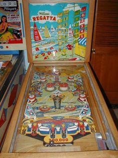 "1955 Regatta ""Williams""Pinball Machine"
