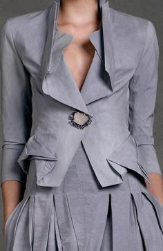 Love the cut and soft look and color. Donna Karan, Pre-Spring 2013