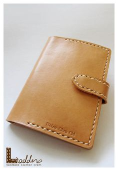 Leather passport holder https://www.etsy.com/listing/122690557/unisex-hand-sew-leather-passport